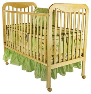 twin baby crib divider photo - 4