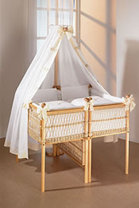 twin baby crib divider photo - 5