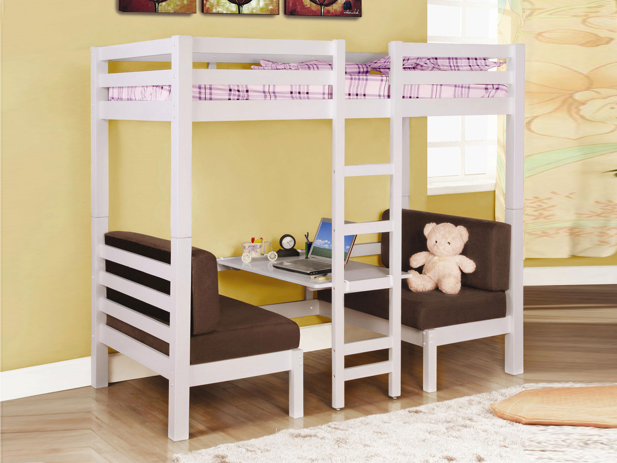 twin bed lofts kids photo - 2