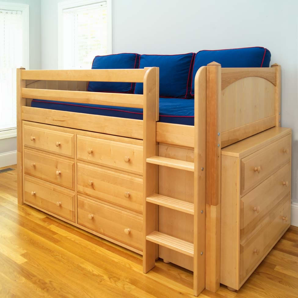 twin bed lofts kids photo - 3
