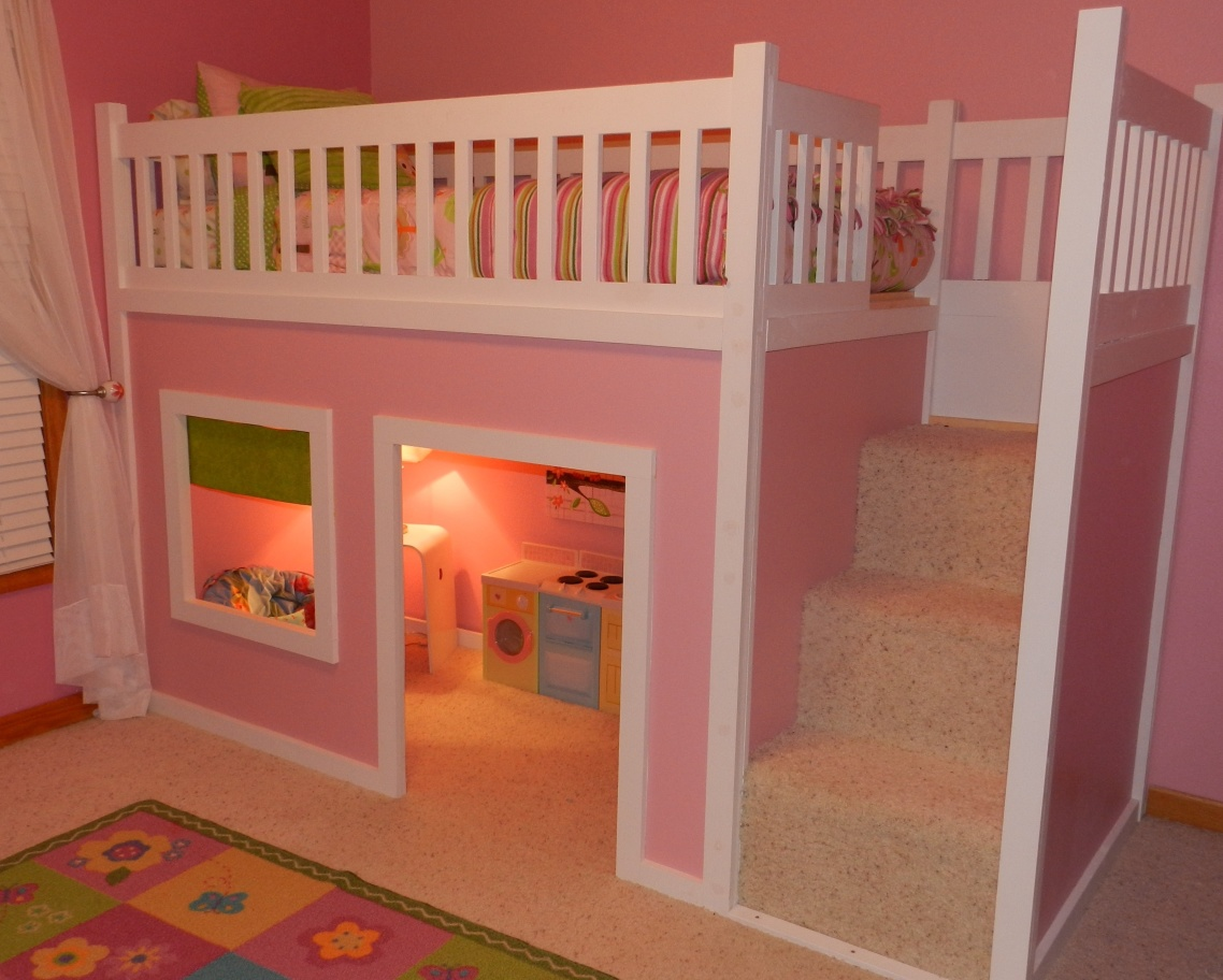 twin bed lofts kids photo - 4
