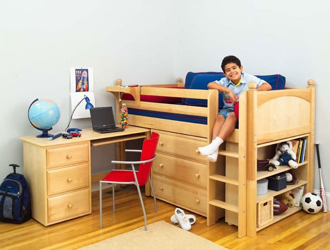 twin bed lofts kids photo - 5