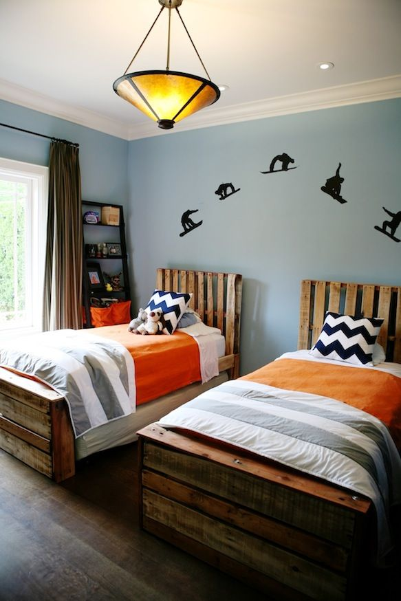 twin beds for little boys photo - 2