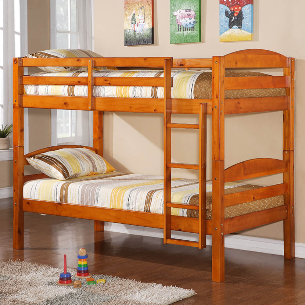 twin bunk beds for kids photo - 3