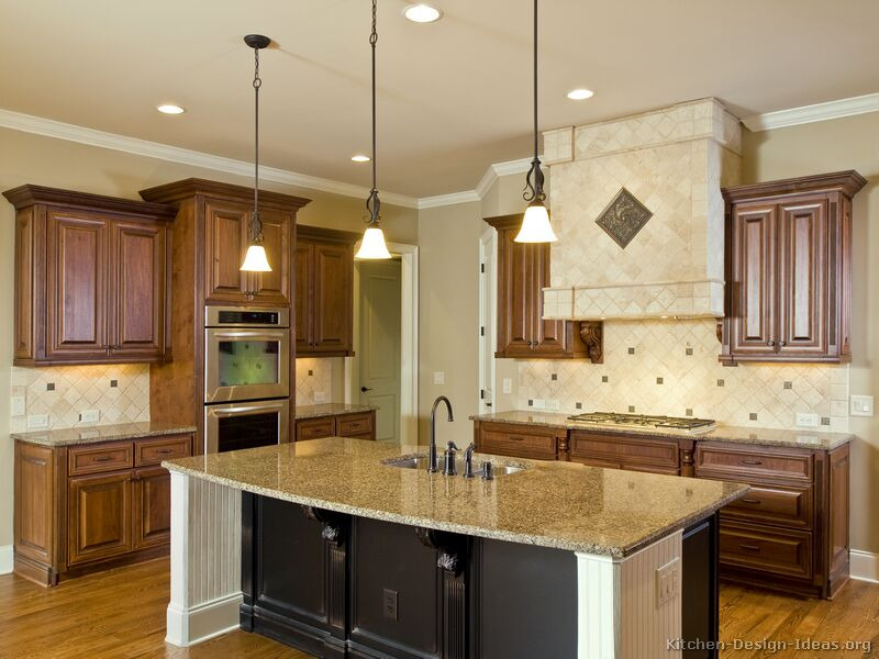 two tone kitchen cabinets ideas photo - 2
