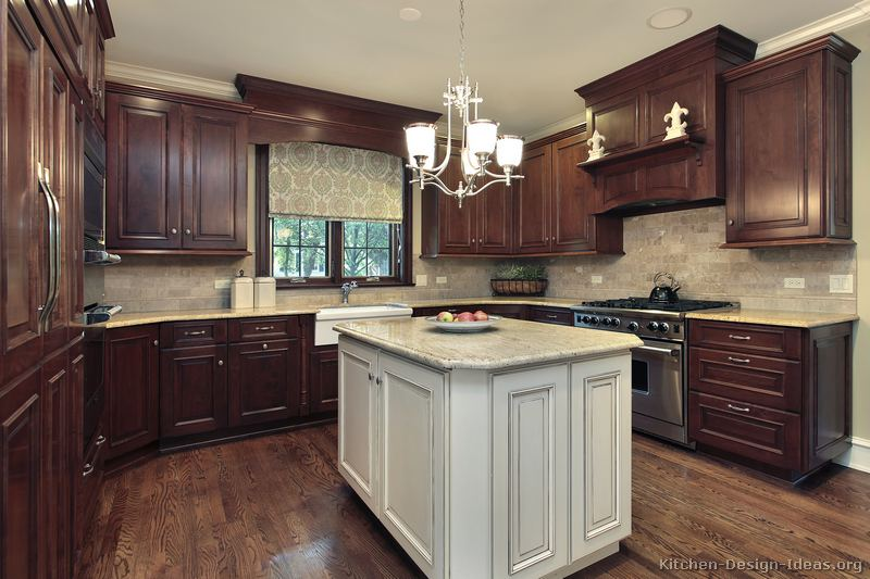 two tone kitchen cabinets ideas photo - 4
