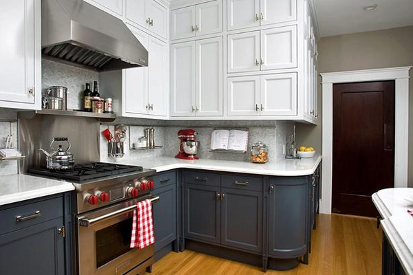two tone kitchen cabinets ideas photo - 5