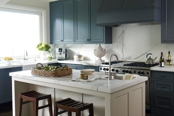 two tone kitchen cabinets ideas photo - 6