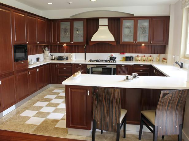u shaped kitchen photo - 4