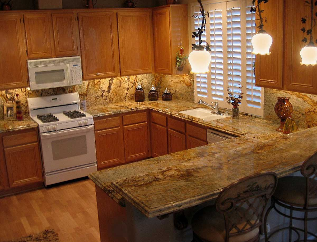 u shaped kitchen countertops photo - 2