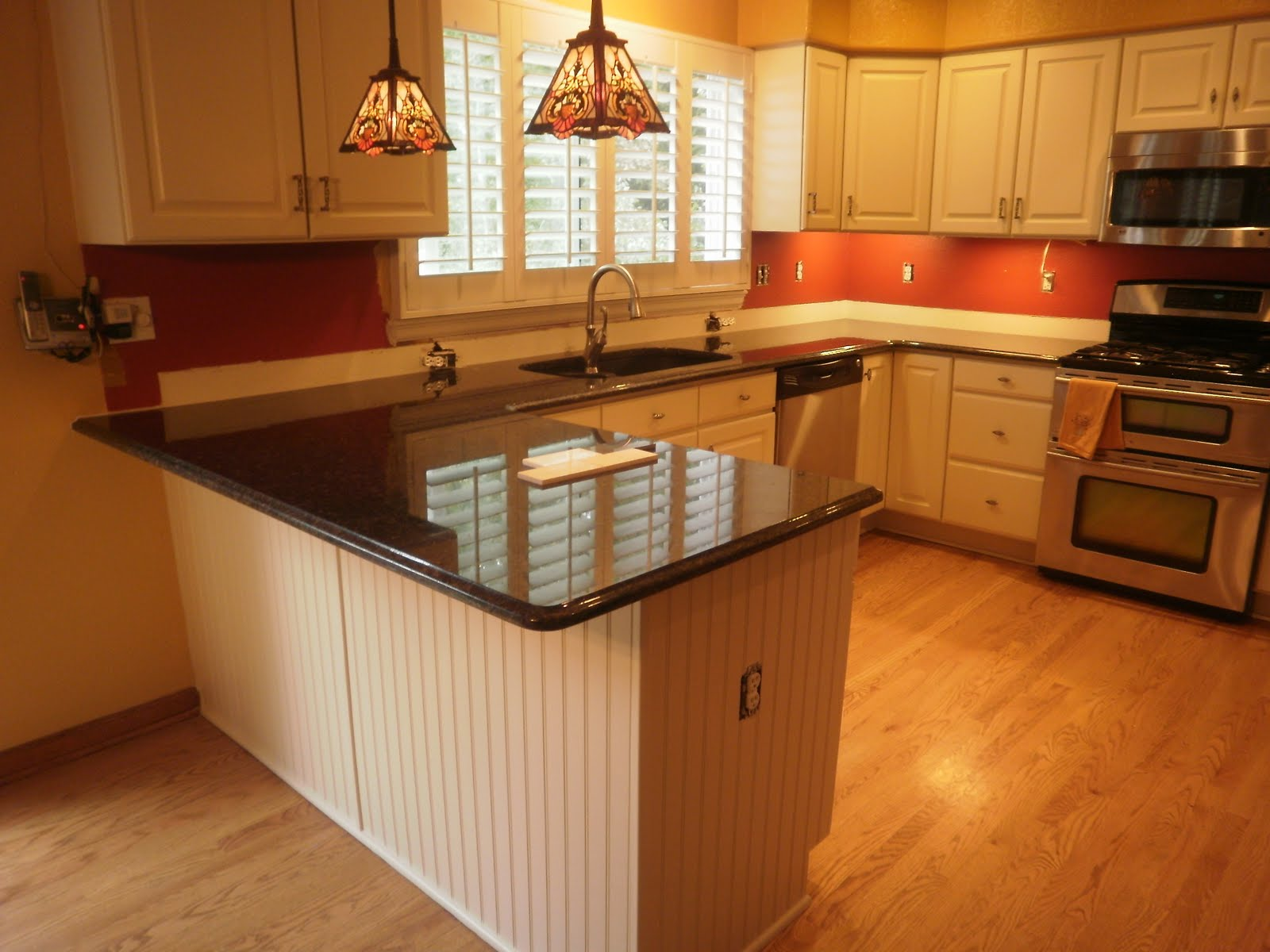 u shaped kitchen countertops photo - 4