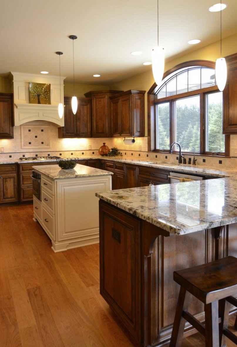 u shaped kitchen countertops photo - 6