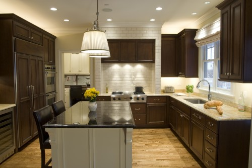 u shaped kitchen designs photo - 5