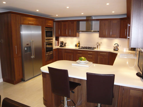 u shaped kitchen ideas photo - 1