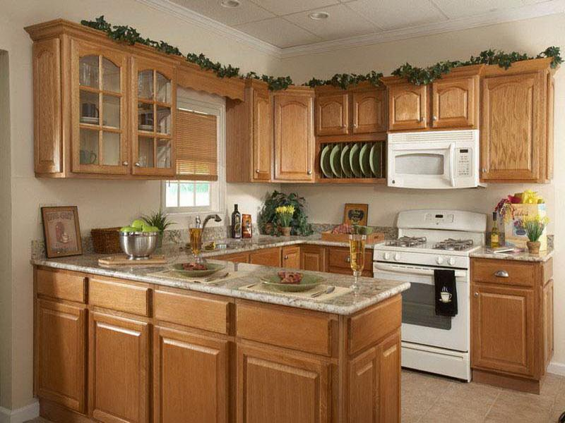 u shaped kitchen layout photo - 4