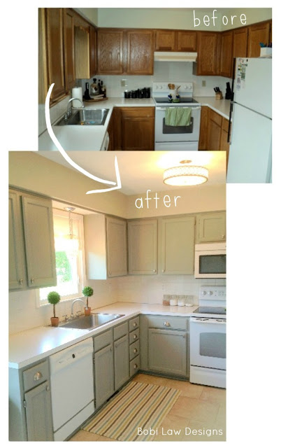 u shaped kitchen makeovers photo - 5