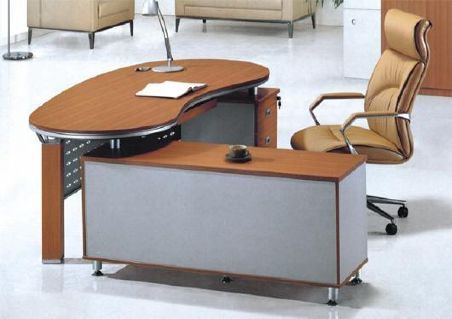 unique office furniture desks photo - 2