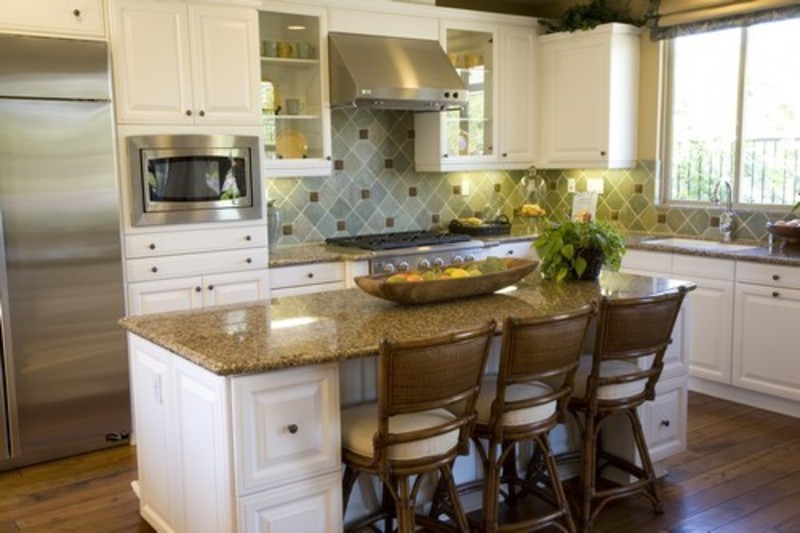 unique small kitchen designs photo - 1