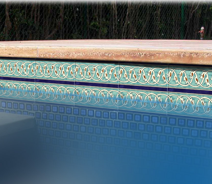 unique swimming pool tiles photo - 4