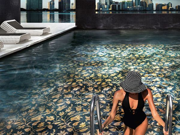 unique swimming pool tiles photo - 6