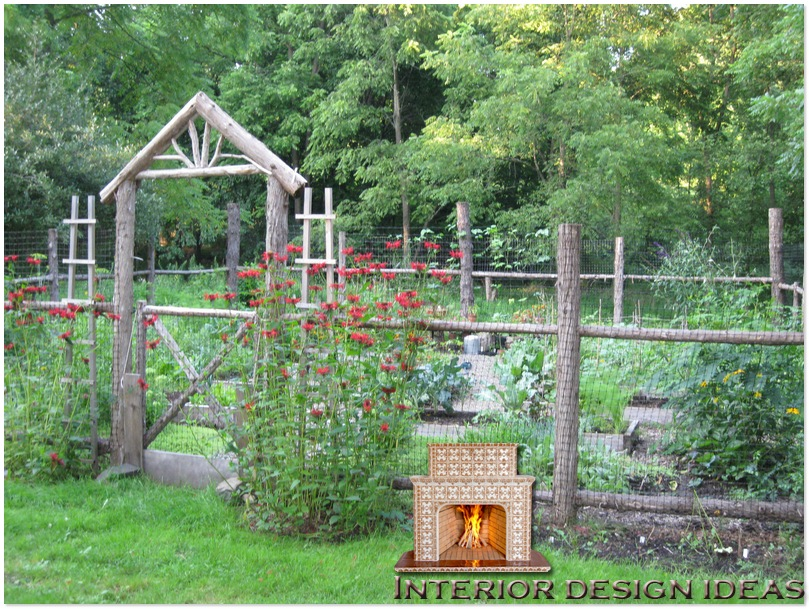 urban vegetable garden design photo - 2