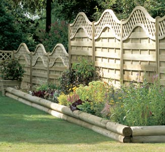 vegetable garden chain link fence photo - 6