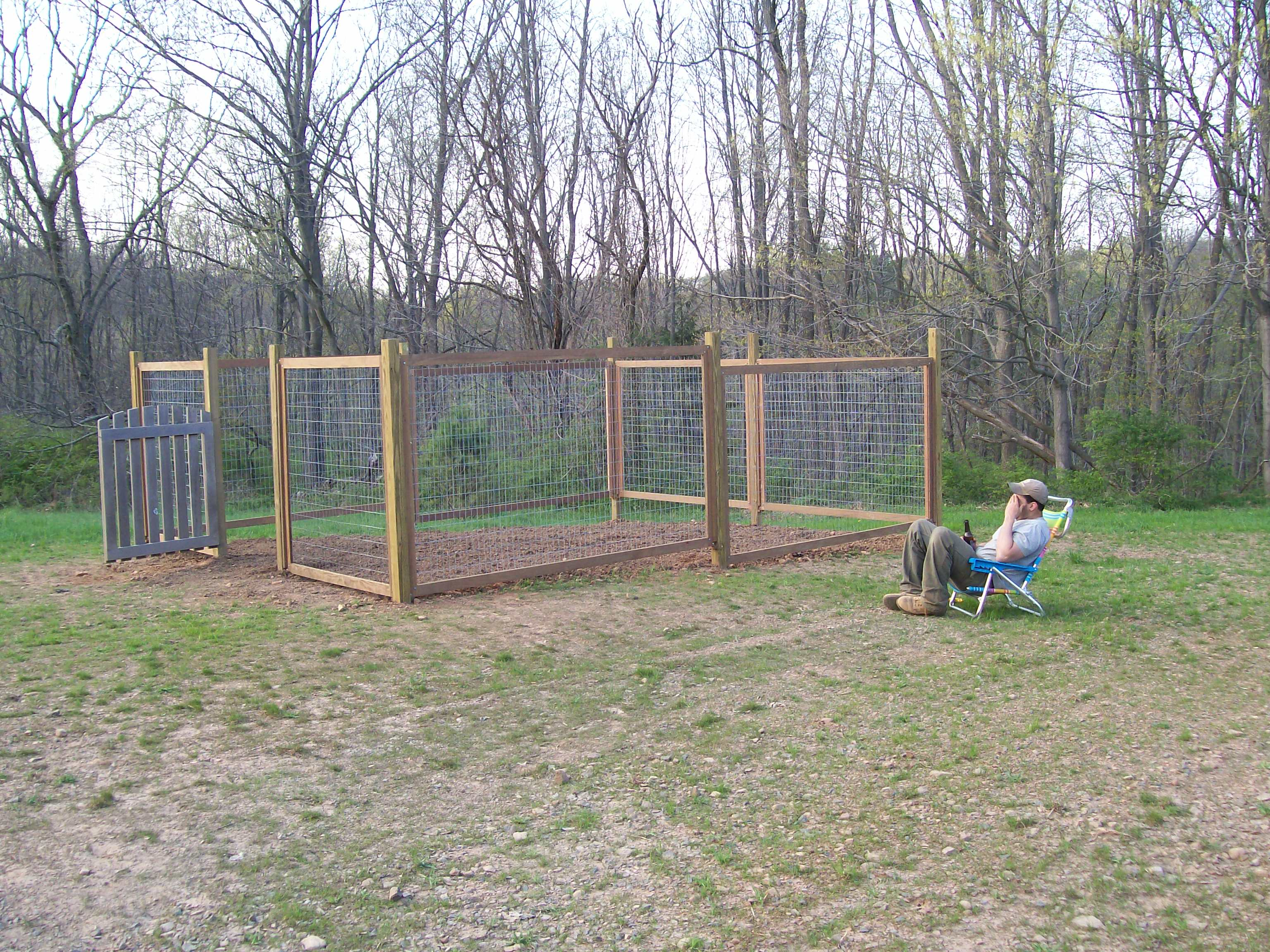 Deer proof garden fence raised bed with deer fence deer proof vegetable garden ideas 6 - Deer proof vegetable garden ideas ...