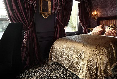 victorian gothic bedroom design photo - 2