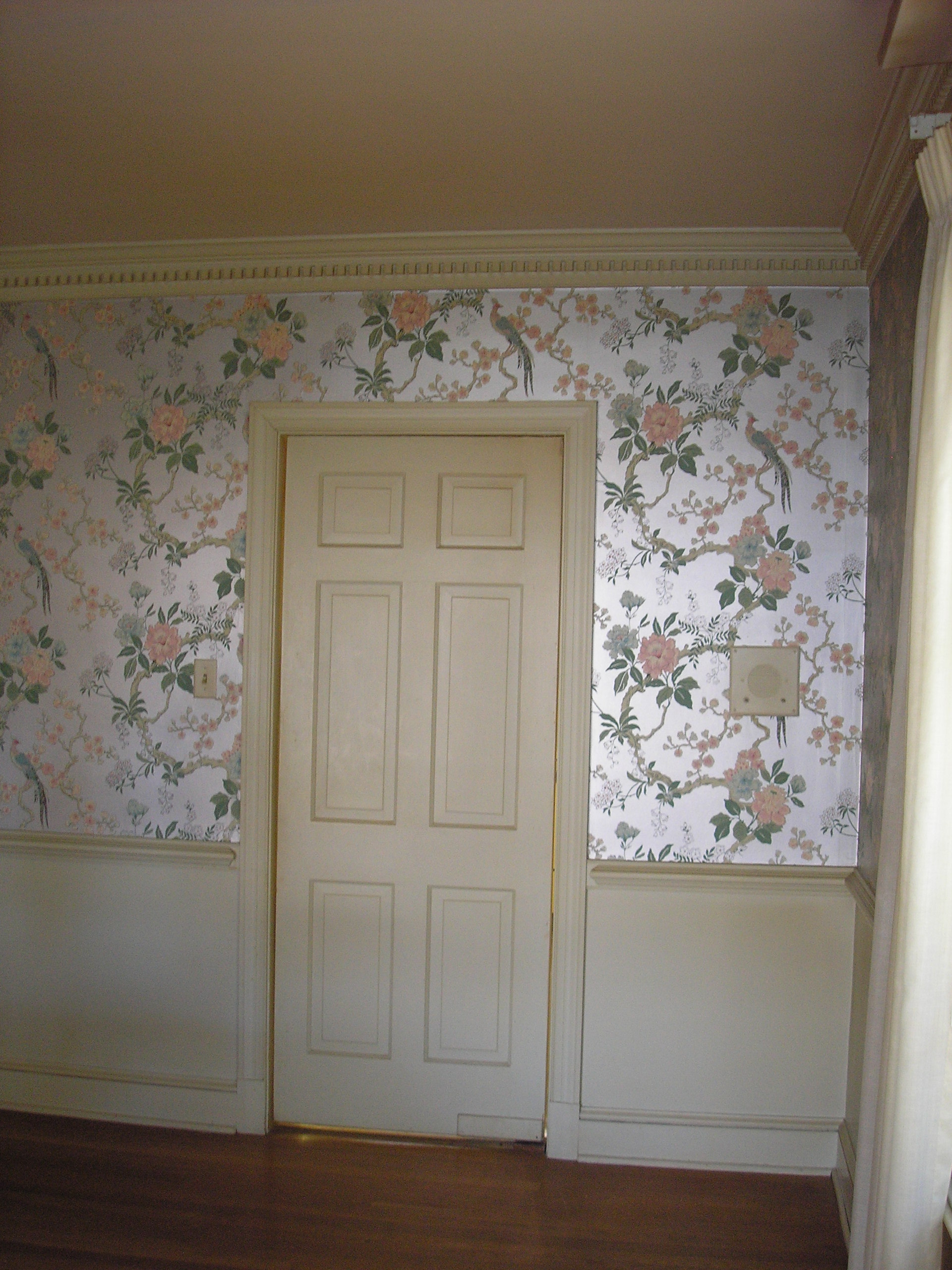 vintage dining room wallpaper photo - 6