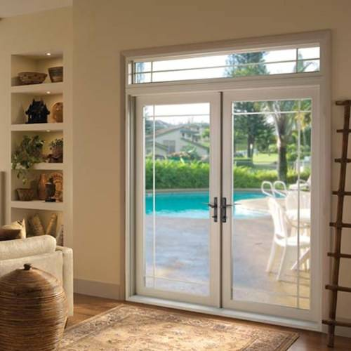 Pella sliding doors with blinds built in - Vinyl Clad Exterior French Doors Interior Amp Exterior Doors
