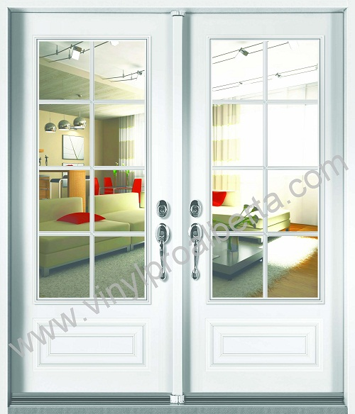 vinyl clad exterior french doors photo - 2