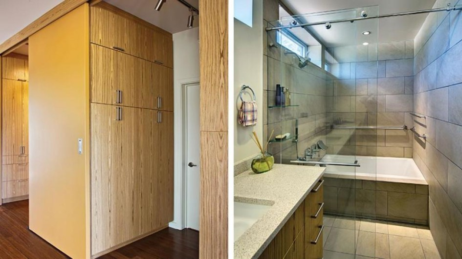 Bathroom With Closet Design Ideas ~ Personable small master bathroom closet ideas