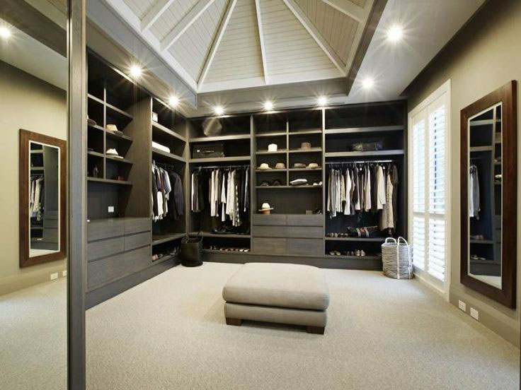 walk in closet design for men photo - 1