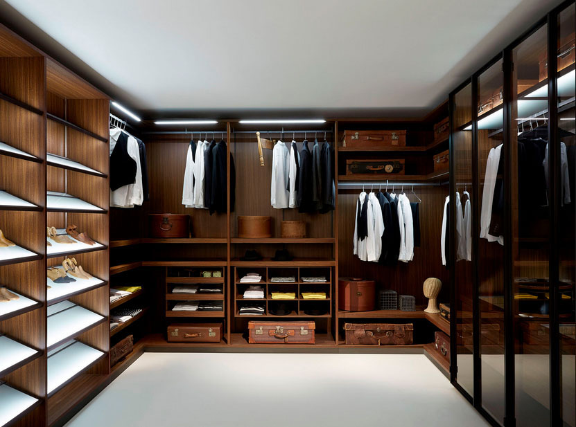walk in closet design for men photo - 2