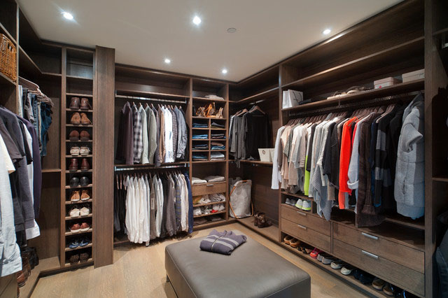 walk in closet design for men photo - 4