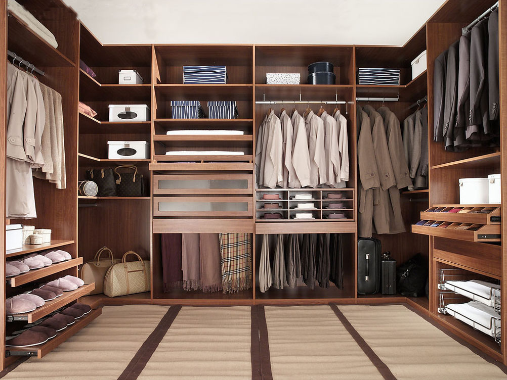 walk in closet design for men photo - 5