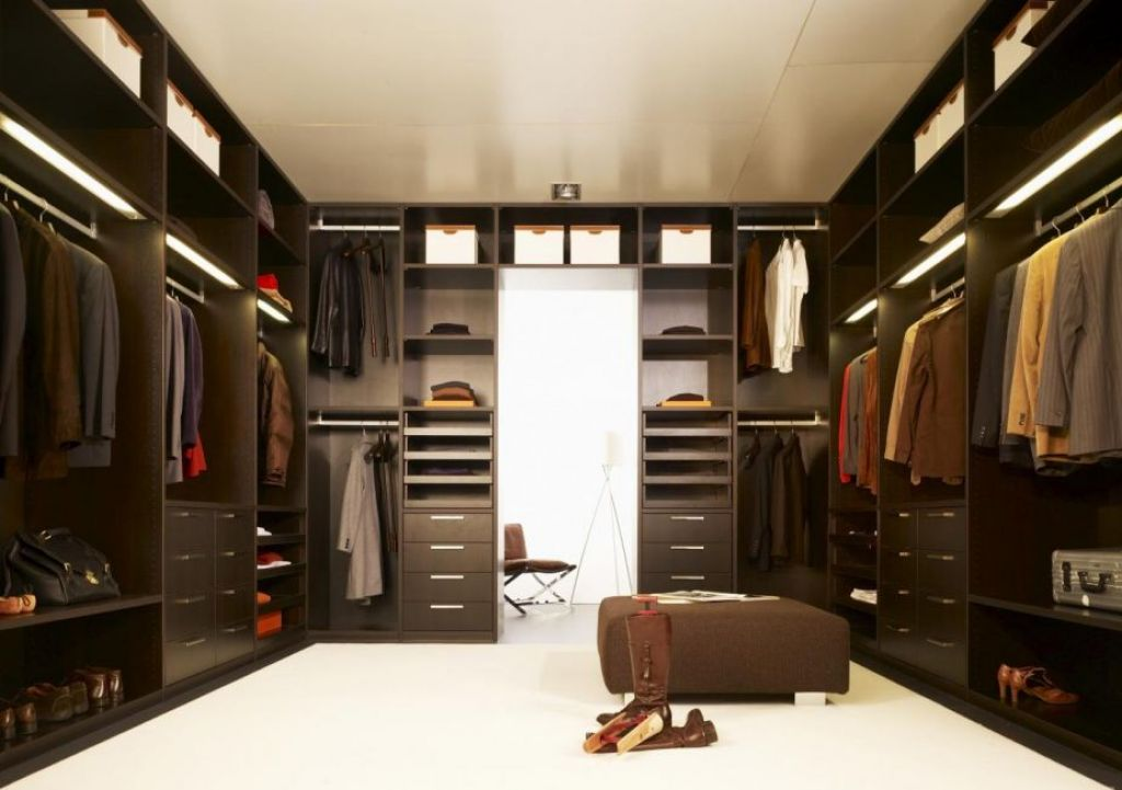 walk in closet design for men photo - 6