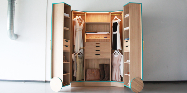 walk in closet design for small spaces photo - 4
