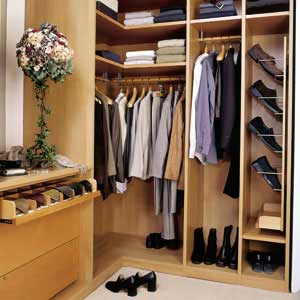 walk in closet design for small spaces photo - 5