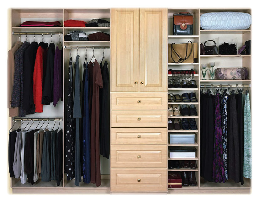 walk in closet design for women photo - 3