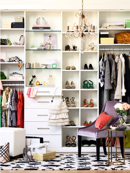 walk in closet design for women photo - 5