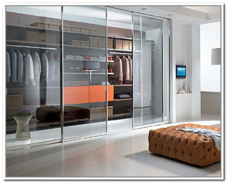 walk in closet door ideas photo - 2