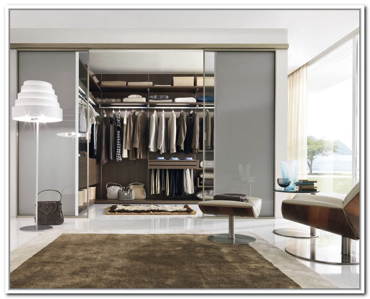 walk in closet door ideas photo - 4