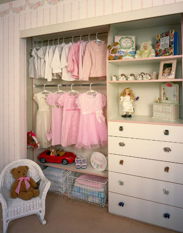 walk-in closet ideas for girls photo - 3