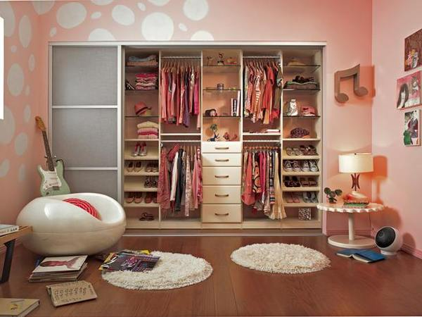 walk-in closet ideas for girls photo - 4