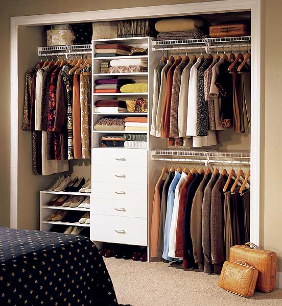 walk in closet in a small space photo - 4
