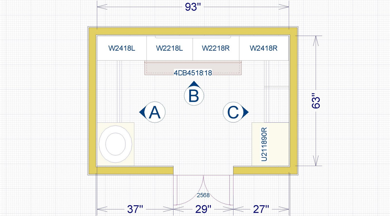 Walk In Closet Layout Plans Interior Exterior Doors