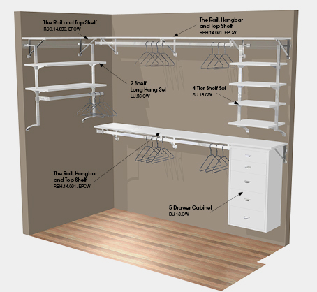 walk in closet layout plans photo - 3