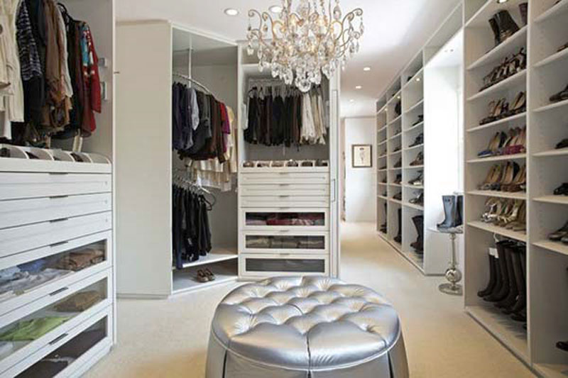 walk in closet luxury design photo - 3