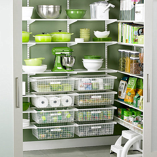 walk in pantry shelving systems photo - 2